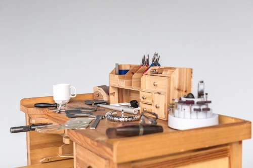 Jewelers Work Desk Photo