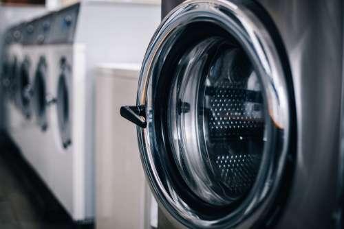 Stainless Steel Washing Machine Door Photo