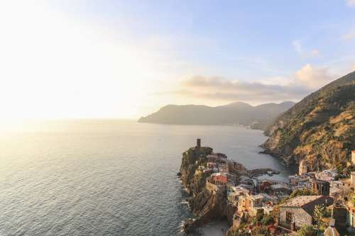 Southern View Of Vernazza Italy Photo