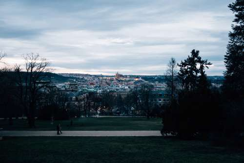 Prague In Twilight Photo