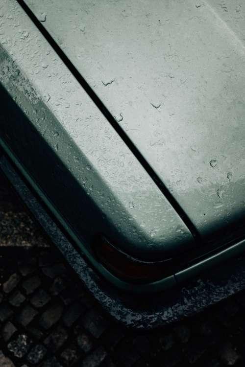 Head Lights Of Grey Car Photo