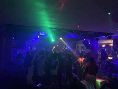 nightclub, dance, party, show, people, young, men, women, light show, boom, concert, music, pleasure, leisure, celebration, club