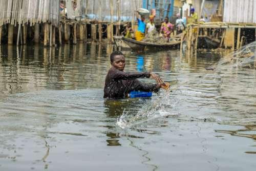 people, river, lake, work, fisherman, man, gestural