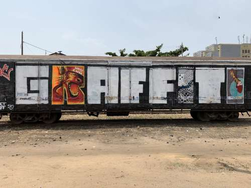graffiti, street art, color, wall painting, urban art, city, illustration, graphic, craft, effet graff, visual art, train, wagon