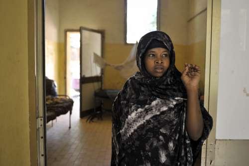 people, woman, dormitory, hijab, veil, facial expression, look, hospital