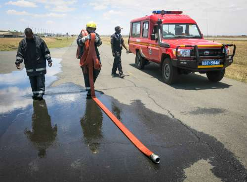 vehicle, people, road, accident, transport, men, work, firefighters, police, rescue, car, truck, water, fire