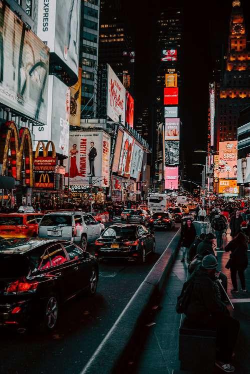 Time Square Traffic