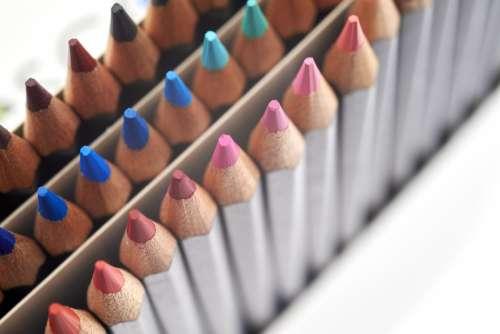 Colored Pencils Free Photo