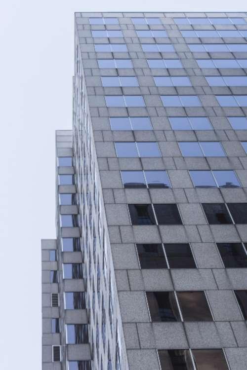 building perspective city exterior architecture