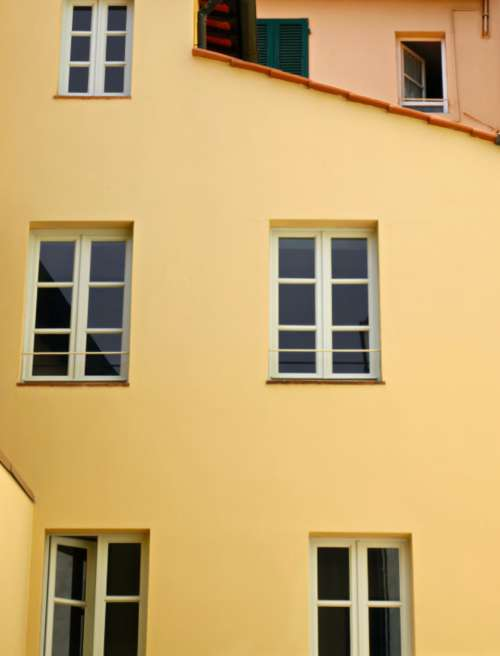 building facade windows wall exterior