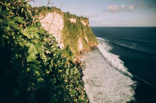 Cliff Ocean Waves