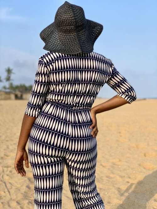 woman, beach, sand, woman, pose, posture, fashion, model, mannequin, people, girl, pants, overall