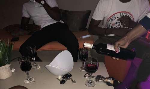 people, men, friends, club, bar, refreshments, VIP, drinks, red wine