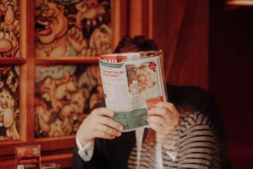 Reading A Magazine