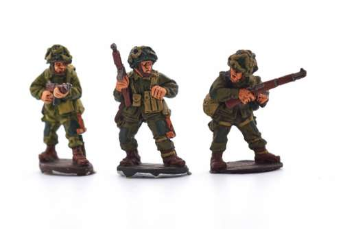 Miniature War Soldiers Free Photo