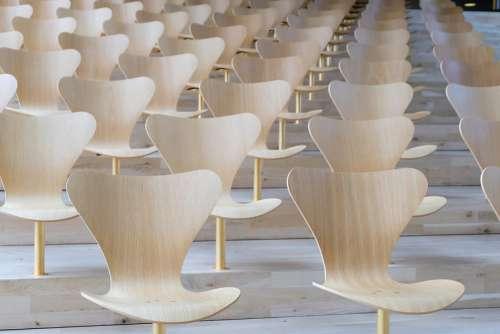 Wood Chairs Pattern