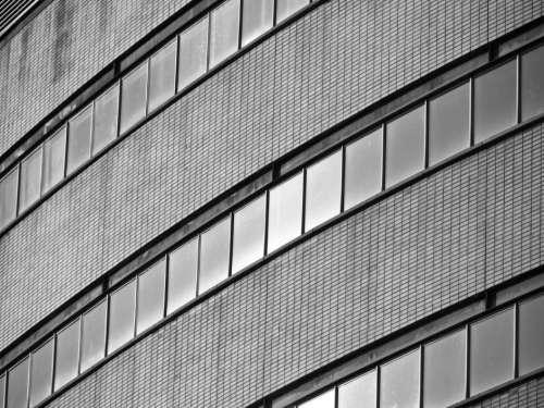 Building Pattern Windows Free Photo