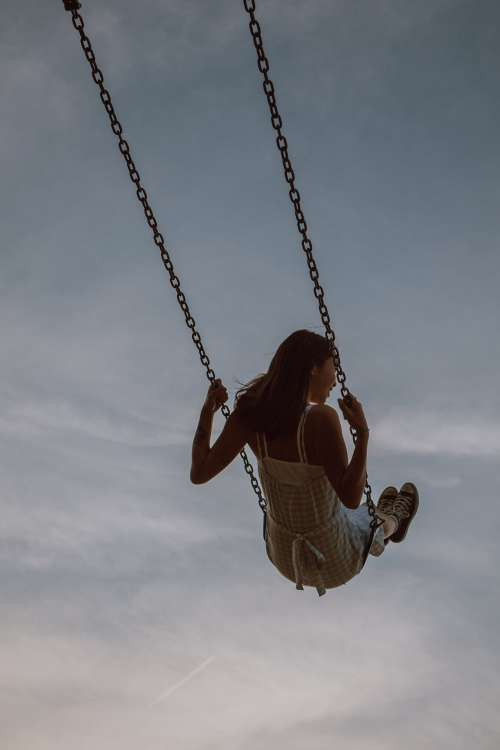 Swinging In The Summer Photo