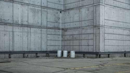 Concrete Industrial Walls Photo