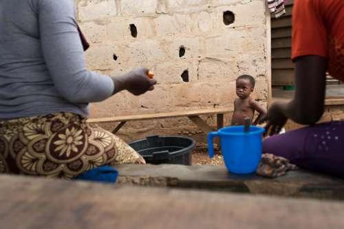 Little Child in Nigeria