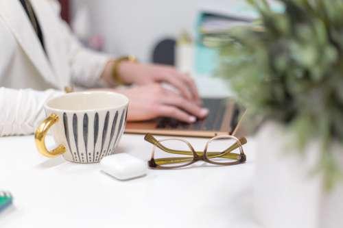 Glasses Desk