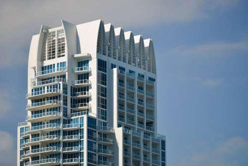 Contemporary Apartment Building In Miami Florida