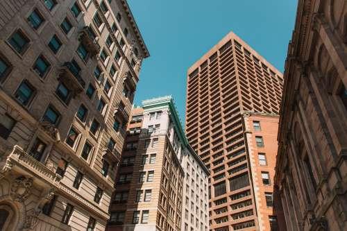 Orange And Teal City Walks Photo