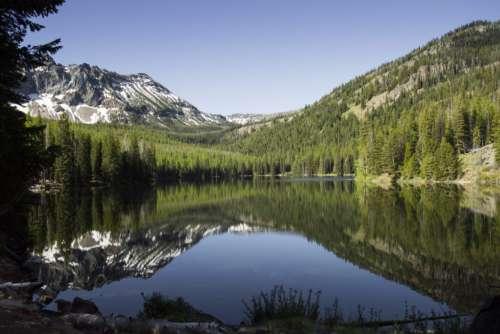 Water Mountains Free Photo