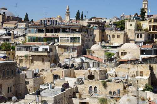 Rooftop View Of Muslim Quarter
