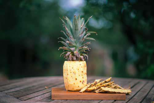 Pealed Pineapple Ready To Eat