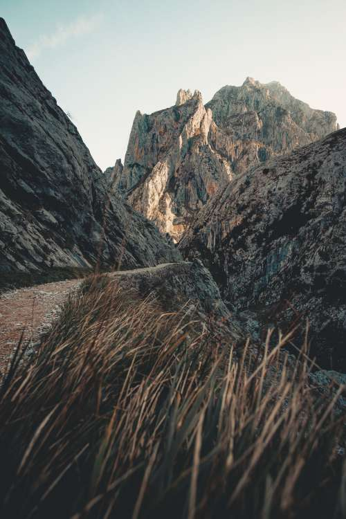 A Rocky Mountain Dirt Trail Photo