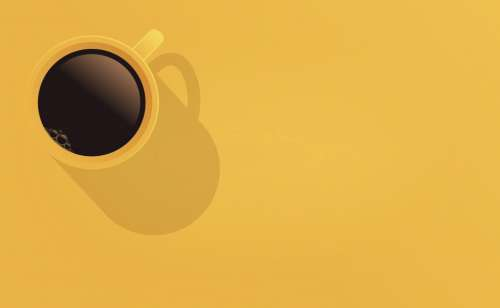 Cup of Coffee - Background with Copyspace