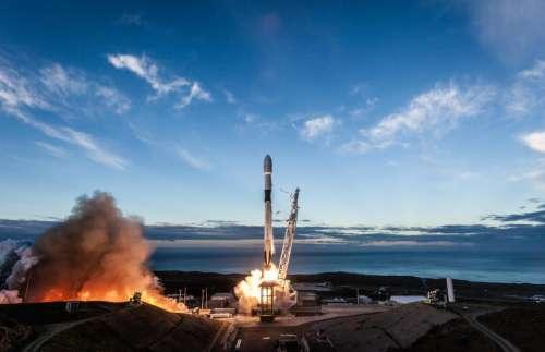 Rocket Launch Sky