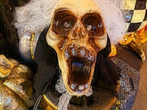 Halloween Scary Face