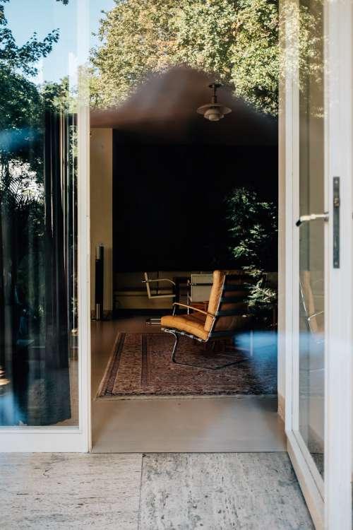 Doorway View Of A Living Room Photo