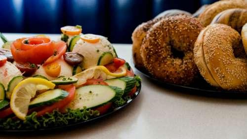 Bagel Breakfast Free Photo