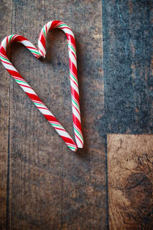 Candy Canes Free Photo