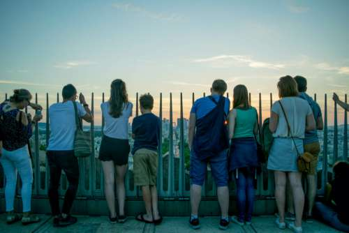 City Tourists Travel Free Photo