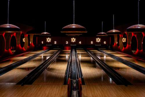 Bowling Alley Free Photo