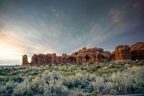 Landscape Nature Desert Free Photo
