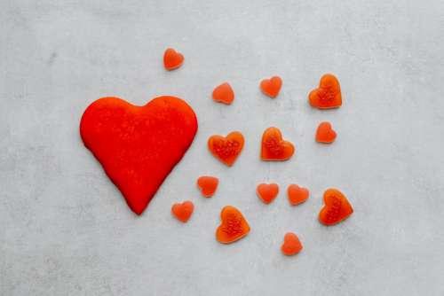 Valentine's Day Backgrounds & Flatlays