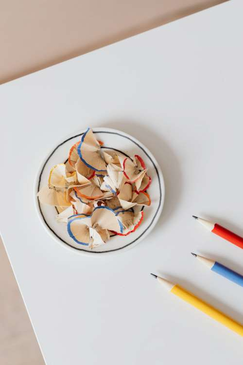 Sharpened Colorful Pencils
