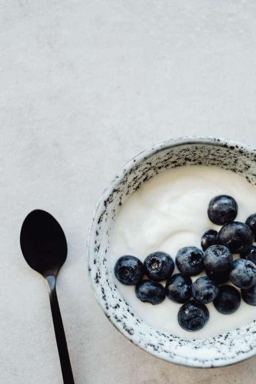 Fresh delicious blueberries